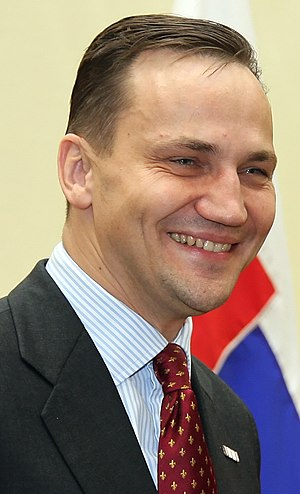 Radek Sikorski, Polish politician