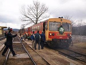 Last day of the Kisterenye—Kál-Kápolna railway...