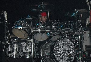 Shannon Leto live with 30 Seconds to Mars at T...