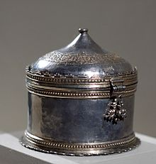 Silver Gilt Pyx South Of France Or Spain 15th Century Musee De Cluny