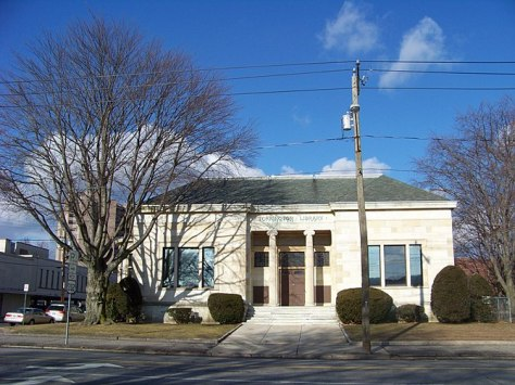 English: Torrington Public Library, Torrington...