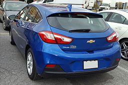 '17 Chevrolet Cruze Hatchback -- Rear