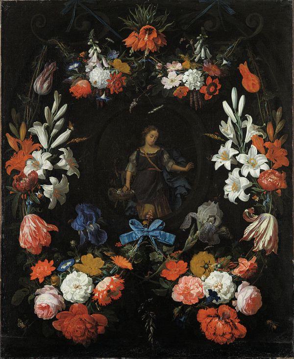Flower Garland Painting