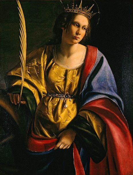 File:Artemisia Gentileschi - 'Saint Catherine of Alexandria', oil on canvas painting, c. 1620, El Paso Museum of Art.jpg