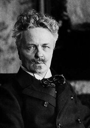 English: Photograph of August Strindberg (1849...