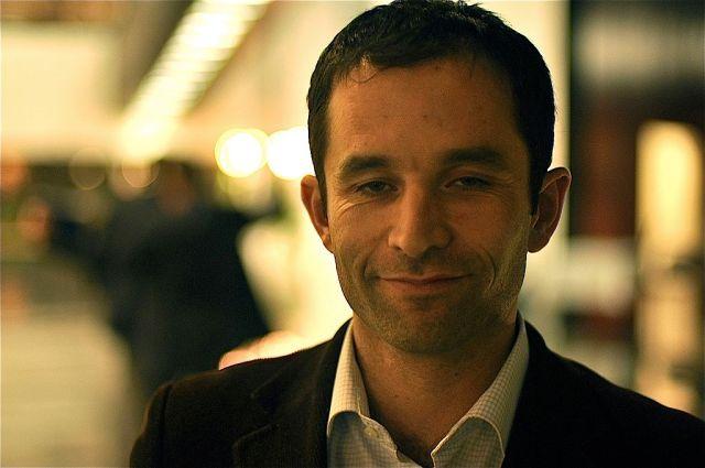 Benoît Hamon au parlement