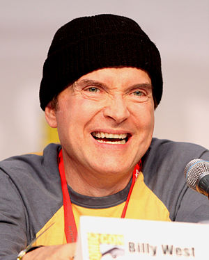 Billy West at the 2010 Comic Con in San Diego