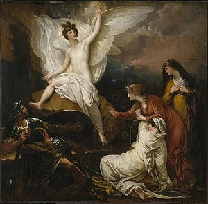 Benjamin West's The Angel at the Tomb of Chris...