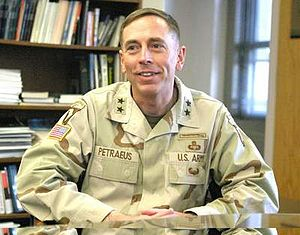 Major General David H. Petraeus, US Army.