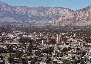 English: This is Downtown Ogden.