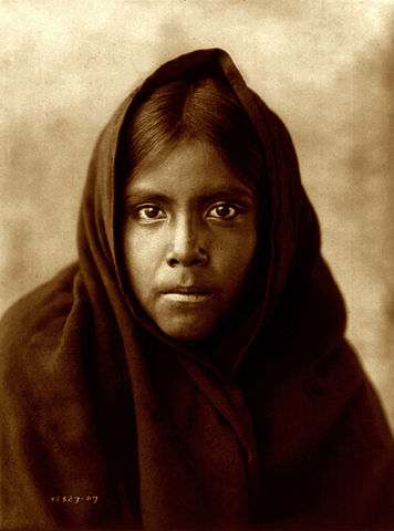 File Edward S Curtis Qahatika Girl Arizona 1907 1 Jpg Wikimedia Commons