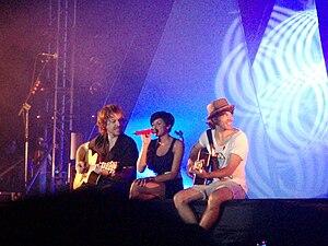Español: El Sueño de Morfeo en un concierto en...