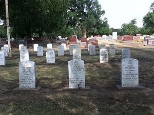 English: The American Legion Plot in the Enid ...