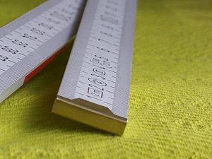 English: folding rulers Deutsch: Gliedermaßsta...