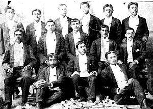 English: Graduating Class of the Kamehameha Sc...