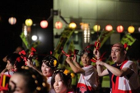 Japan - Takamatsu Awa Odori Bon Festival 05