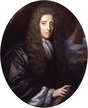 John Locke, by Herman Verelst (died 1690). See...