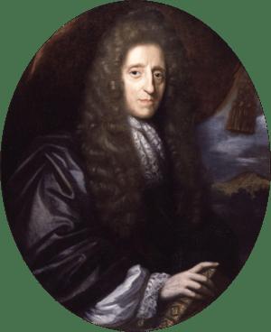 John Locke, by Herman Verelst (died 1690). See...