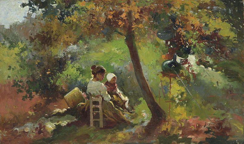 File:José Navarro Llorens - En el Jardín.jpg