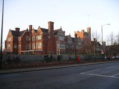 King Henry VIII school in Coventry viewed from...