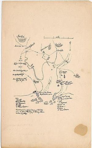 Map of the British invasion of New Haven, Conn...