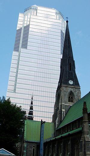 KPMG tower in Montreal, Canada