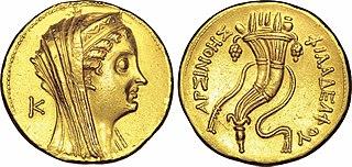 Octodrachme d'or avec une corne d'abondance