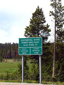 La Ligne De Partage Des Eaux : ligne, partage, Ligne, Continentale, Partage, D'Amérique, Wikipédia