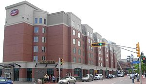 Marriot Residence Inn in Moncton