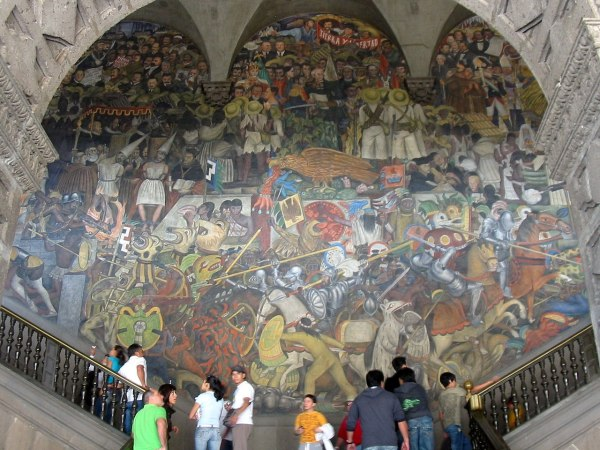 Diego Rivera Mural National Palace Mexico