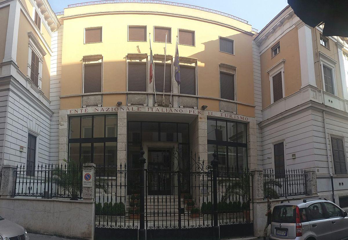 Agenzia Nazionale Italiana Del Turismo Wikipedia