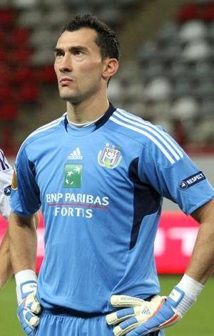 English: Silvio Proto with R.S.C. Anderlecht.