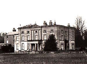 Appleby Hall in Appleby Parva built in Derbysh...