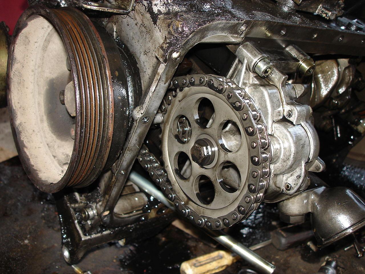 1989 Chevy C K Pickup Wiring Diagram Manual Original File A Close View Of Om601 Diesel Engine Oil Pump Jpg