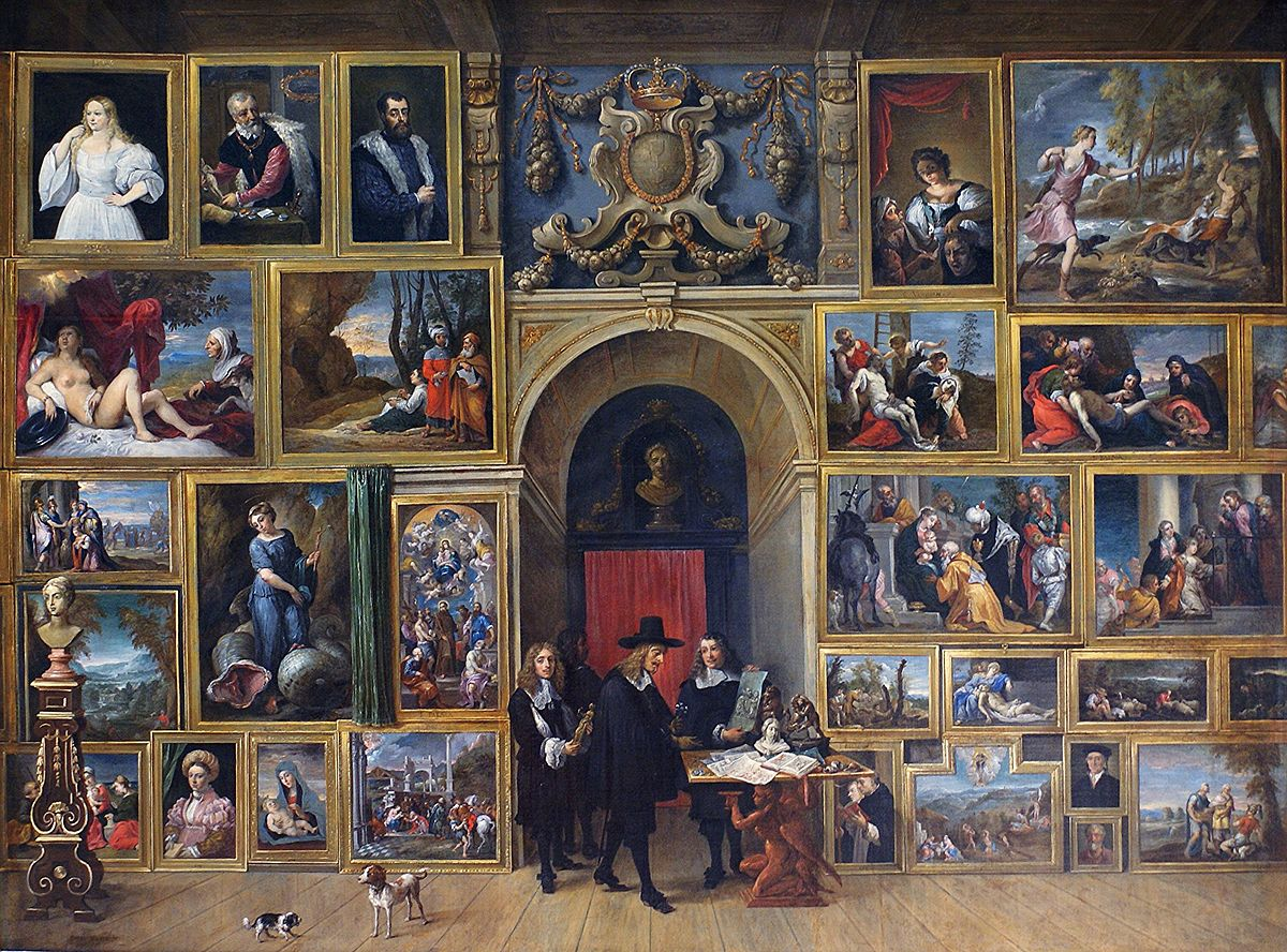 Gallery of Archduke Leopold Wilhelm Brussels  Wikipedia