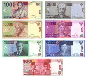 The Indonesian Rupiah (IDR) banknotes denomina...