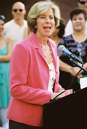 Los Angeles City Councilmember Janice Hahn cam...