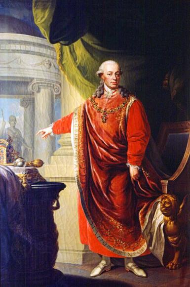 File:Johann Daniel Donat, Emperor Leopold II in the Regalia of the Golden Fleece (1806).png