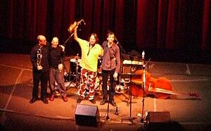 John Zorn with band Masada