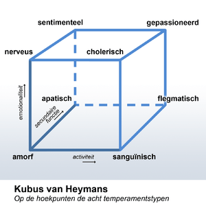 The Cube of Heymans is a description of a pers...