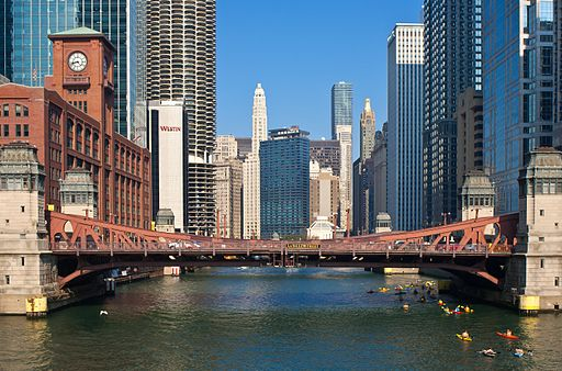 LaSalle Street bridge 20100731