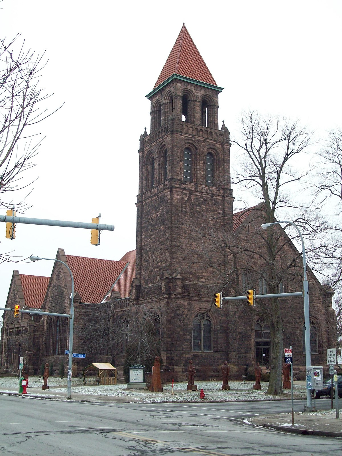 Lafayette Avenue Presbyterian Church Buffalo New York