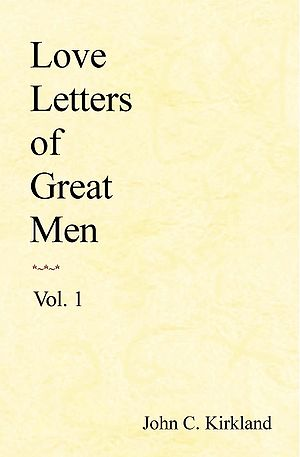 Front cover of the book Love Letters of Great ...