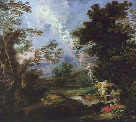 """""""Landscape with the Dream of Jacob"""""""