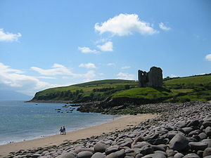 Minard Castle, Lispole, County Kerry