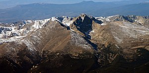 Mt. Meeker & Longs Peak. Flickr photo has ID's.