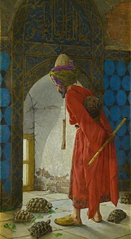 Osman Hamdi Bey - The Tortoise Trainer - Google Art Project.jpg