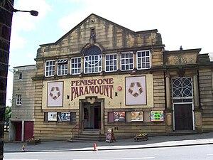 English: Photograph of Penistone Paramount cin...