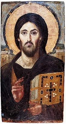 The oldest icon of Christ Pantocrator, Saint Catherine's Monastery Mount Sinai