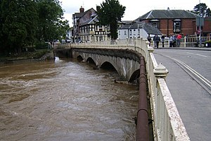 English: The Calm After The Storm The River Te...